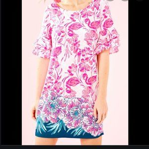 Lilly Pulitzer Lula Dress Coral Reef Size Small